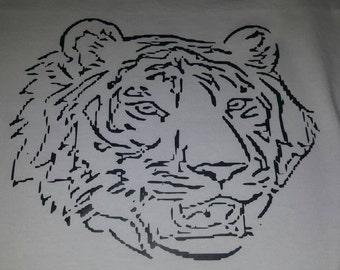 Tiger head shirt
