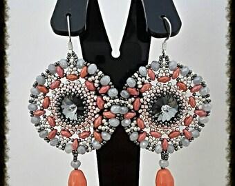 Fabrizia Francesca Piombino Pattern earrings