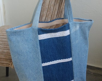 Upcycled jeans bag/bags out of jeans