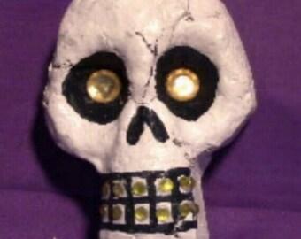 Yellow Medium Skulls