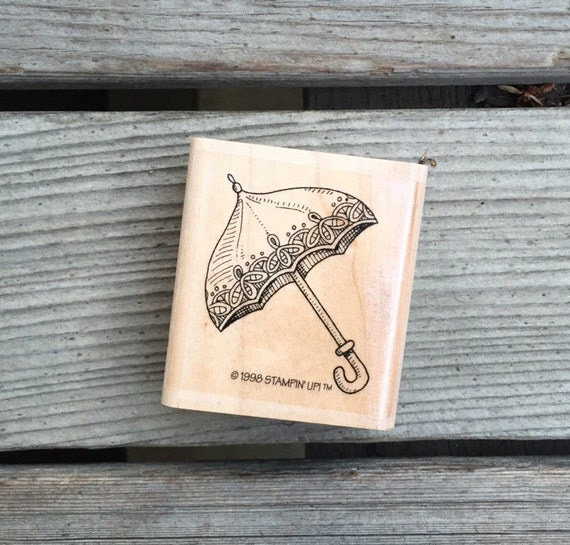 Items similar to wooden stamp umbrella stamp rubber stamp for Wedding dress rubber stamp