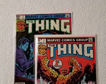 NM, The Thing #1 and #2 (1983)