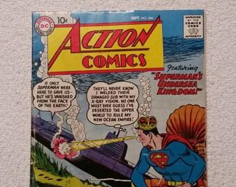 Fine Copy! #244 Action Comics (1958)