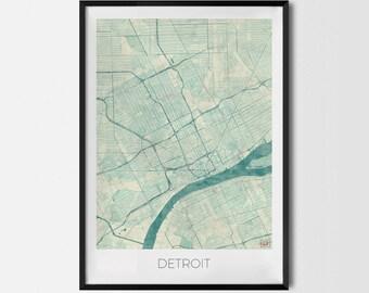 "Poster ""Detroit"""