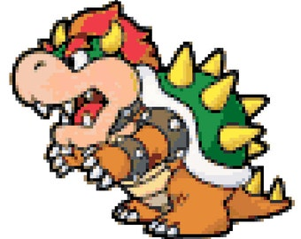 Paper Mario Bowser
