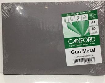 Paper - 50 sheets Gun Metal