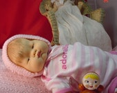 Vintage 1960's Baby Dear Doll by Eloise Wilkins for Vogue, Exc