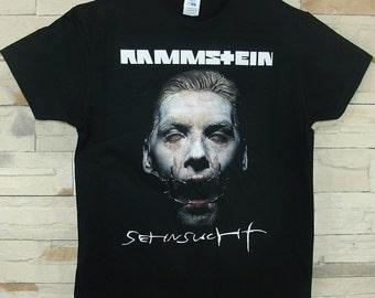 Rammstein Sehnsucht, black shirt