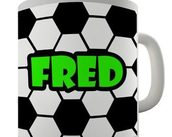 Personalised Custom Soccer Football Ceramic Funny Mug