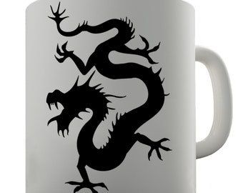 Eastern Dragon Ceramic Novelty Mug