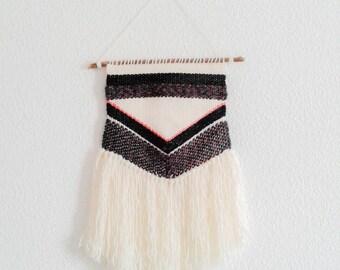 "Weaving wall ""Sistine"" size S hanging ethnic weaving wall art handmade"