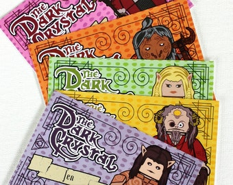 The Dark Crystal 4 x 6 Cards (Set of 5)