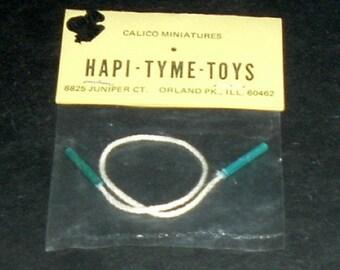 Miniature JUMP ROPE (Calico Miniatures)