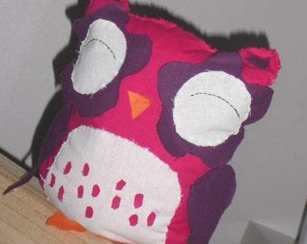 Custom cushion fabric OWL