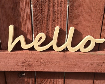 Unfinished Wood Words, Wooden Words, Wood Signs, Wooden Signs
