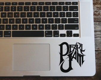 Pearl Jam vinyl decal sticker