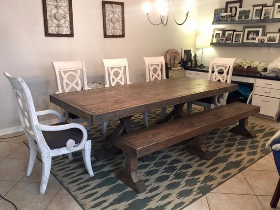 8ft Fancy Farmhouse Table Local Pick up Delivery ly