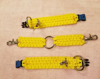 Paracord, ankle cuffs made to order
