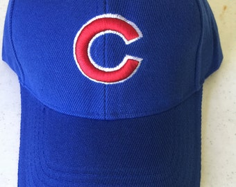 Chicago Cubs Baseball Adjustable Hat ( One Size Fits All)