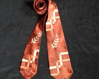 Vintage 1940's Men's Neck Tie