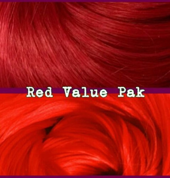 Red Wedding & Daredevil 4 oz Nylon Doll Re-rooting Hair Value Pak for Custom My Little Pony, Barbie, Monster High, Ever After, Crissy Blythe