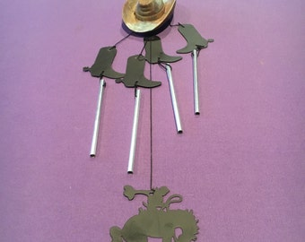American Cowboy Wind Chime