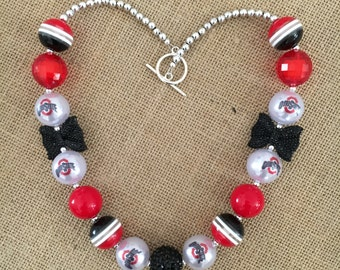 OHIO STATE BUCKEYES - Mini Bow