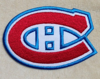 Montreal Canadiens NHL Logo Iron On Patch