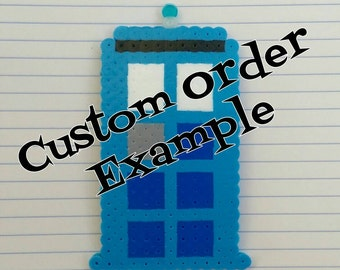 Custom Bead Sprite, Pixel Perler Beads, Your choice!