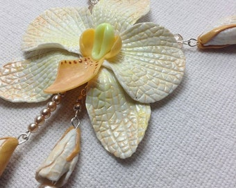 """Necklace """"Orchid"""""""