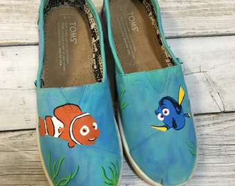 Finding Nemo Painted TOMS