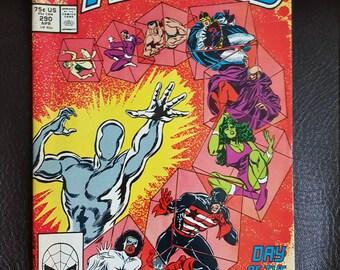 1988 The Avengers #290 VG FN - Marvel Comic - Day of the Adaptoid! -