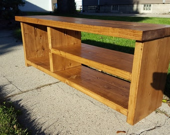 "48"" Entryway Shoe Bench - Early American"