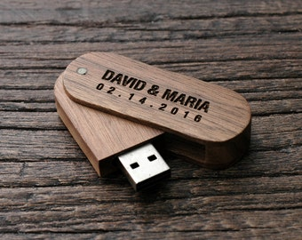 Wedding USB, Personalized Wedding Favor, USB Photographers, Wedding Flash Drive, Personalized Flash Drive, Custom USB Drive, LWUSB02