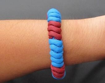 Mystic snake knot paracord bracelet