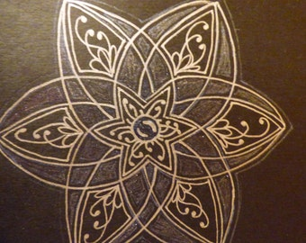 Hand Drawn Mandala Molskine® Journal
