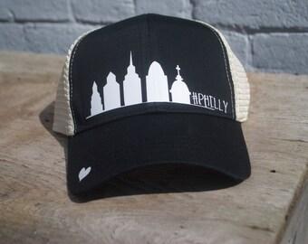 Philly Skyline -Black/White