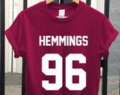 5sos shirt, 5 seconds of summer shirt, luke hemmings shirt, unisex t-shirt size S-XL
