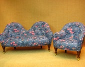 1 inch scale Avis sofa and chair