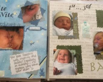 Custom scrap book or pages