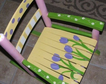 Hand-painted Rocking Chairs
