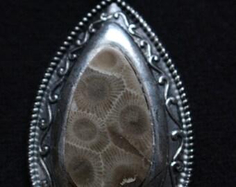 Petoskey Stone Pendant
