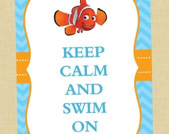 Finding Nemo Keep Calm Art