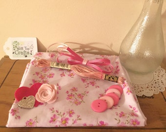 Inspiration/Craft/scrap booking/Fabric Pack, suitable for adults & children, ideal gift