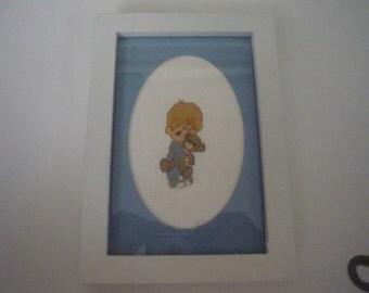Little boy with Teddy