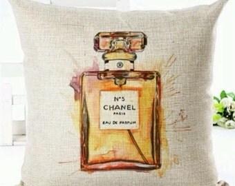 Chanel No.5 Perfume Bottle Cushion