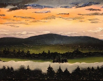 "Acrylic Painting 10""x20"""