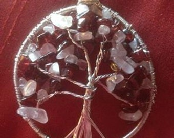 Tree of Garnet and Rose