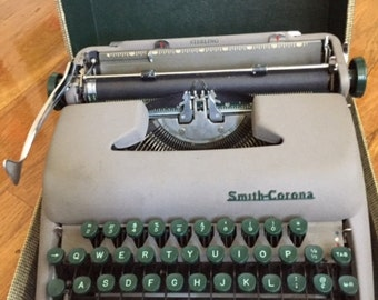 1955 Smith Corona Type Writer