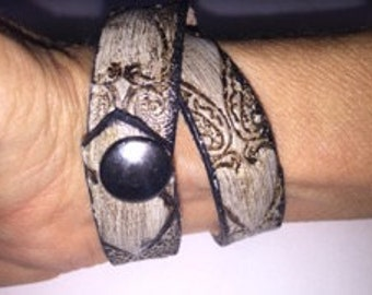 Hand Made Leather Braclet